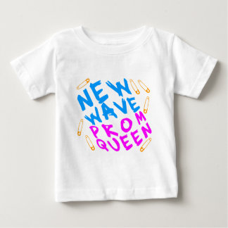 Corey Tiger 80s Vintage New Wave Prom Queen Baby T-Shirt