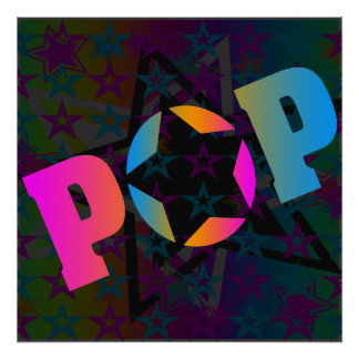Corey Tiger 80s Vintage Pop Stars Poster
