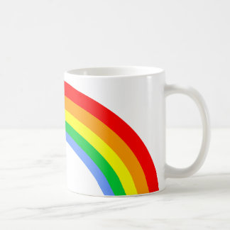Corey Tiger 80s Vintage Rainbow Coffee Mug