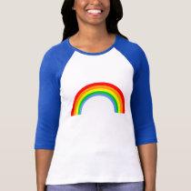 Corey Tiger 80s Vintage Rainbow T-Shirt