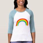 Corey Tiger 80s Vintage Rainbow Tee Shirt