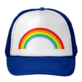 Corey Tiger 80s Vintage Rainbow Trucker Hat