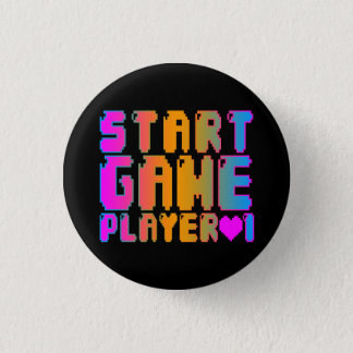 Corey Tiger 80s Vintage Start Game Player 1 Button