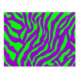Corey Tiger 80s Vintage Tiger Stripes Post Cards