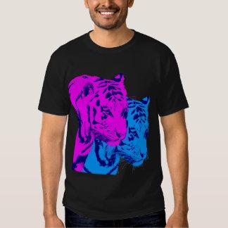 Corey Tiger 80s Vintage Twin Tigers T-Shirt
