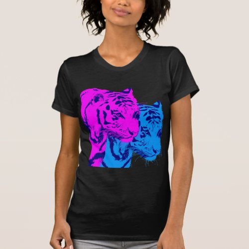 Corey Tiger 80s Vintage Twin Tigers T-shirt