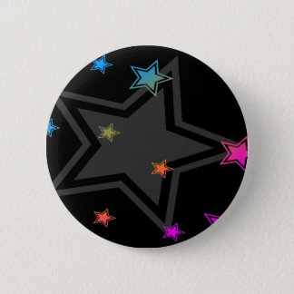 COREY TIGER EIGHTIES RETRO DISCO STARS PINBACK BUTTON