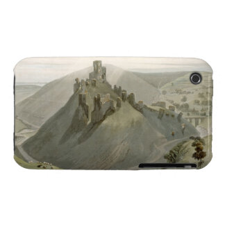Corfe Castle, from 'A Voyage Around Great Britain iPhone 3 Cases