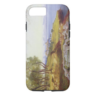 Corfu from Ascension, c.1856-64 (oil on canvas) iPhone 8/7 Case