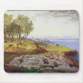 Corfu from Ascension, c.1856-64 (oil on canvas) Mouse Pad