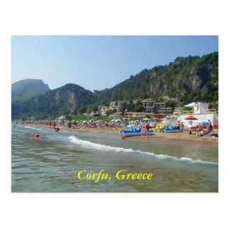 Corfú, Grecia Postal
