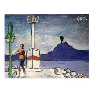 Corfu Postcard