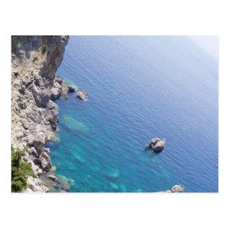 Corfu Waters Postcard