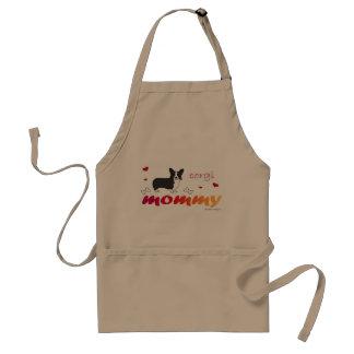 corgi adult apron