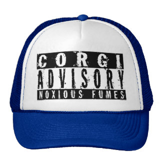Corgi Advisory Noxious Fumes Trucker Hat