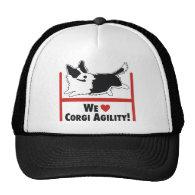 Corgi Agility Mesh Hat