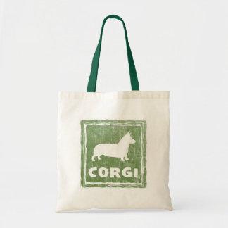 Corgi Budget Tote Bag