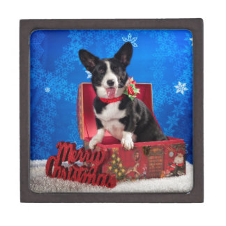 Corgi Christmas Gift Box