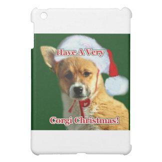 Corgi Christmas Pup- Mercy iPad Mini Cases