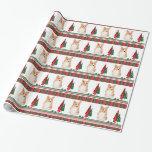Corgi Christmas Wrapping Paper