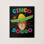Corgi Cinco de Mayo Dog Jigsaw Puzzle