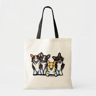 Corgi Clan Budget Tote Bag
