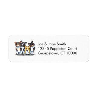 Corgi Clan Return Address Label