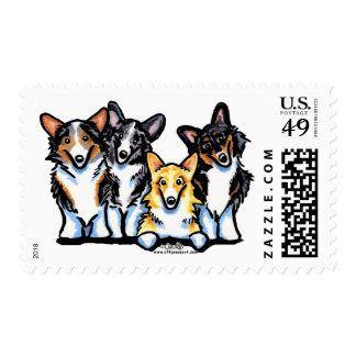Corgi Clan Stamp