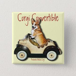Corgi Convertible Button
