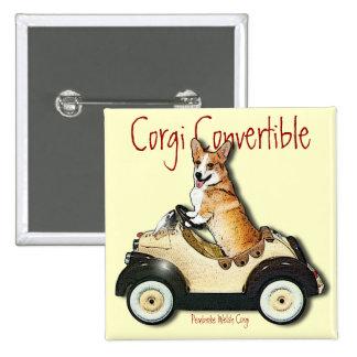 Corgi Convertible Pins