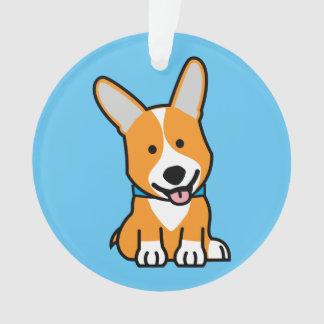 Corgi Corgis dog puppy doggy happy Pembroke Welsh Ornament