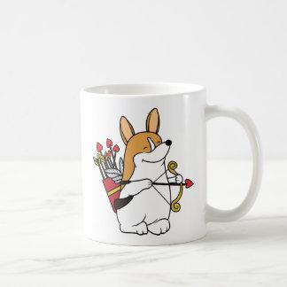 Corgi Cupid Valentine's Day Mug
