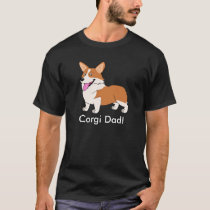 Corgi Dad T-Shirt