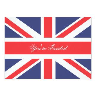 Corgi de Londres Inglaterra con la invitación del