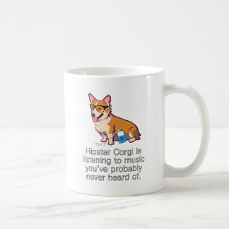 Corgi del inconformista tazas de café