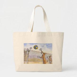 Corgi dog beach volleyball bags