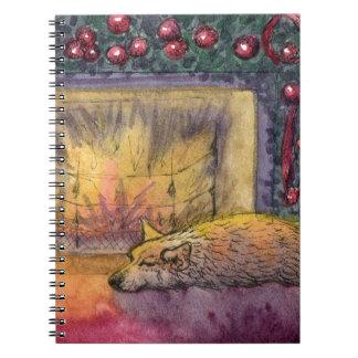 Corgi dog festive dreaming note books