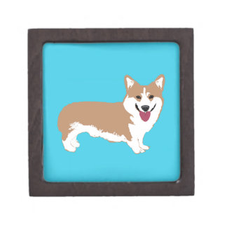 Corgi Dog Gift Box
