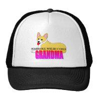 Corgi Dog Grandma Hats