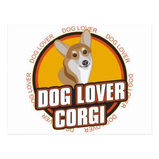 Corgi Dog Lover Postcard