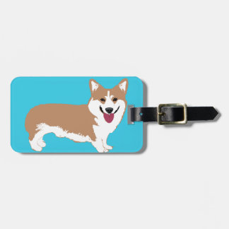 Corgi Dog Luggage Tag