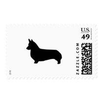 Corgi Dog postage stamp - corgi stamp