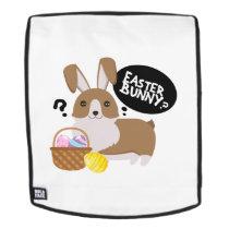 Corgi Easter Funny for Boys Girls Love Dog Puppy Backpack