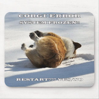CORGI ERROR MOUSE PAD