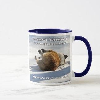 Corgi ERROR Mug