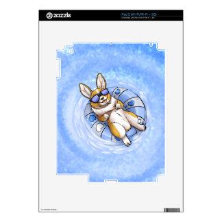 Corgi estropeado calcomanías para iPad 2