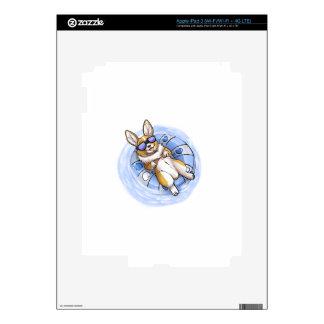 Corgi estropeado iPad 3 skin