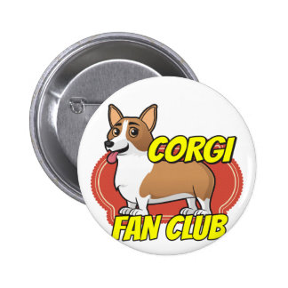 Corgi Fan Club Pinback Button