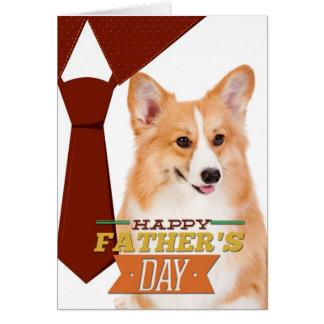 Corgi Father's Day Card