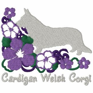 Corgi Galés de la rebeca del hibisco